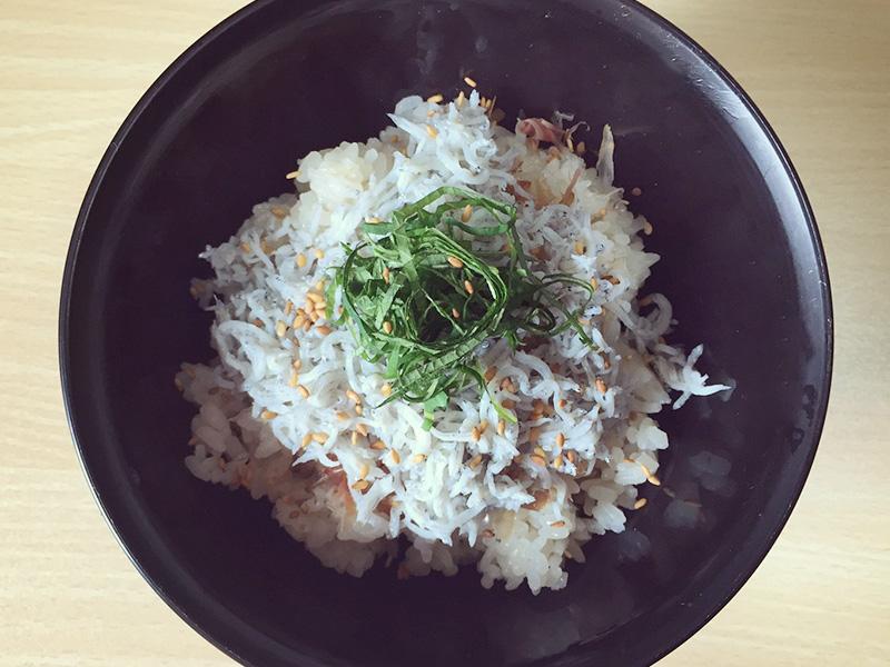 奈良ぽん酢大和ぽんずしらす丼画像