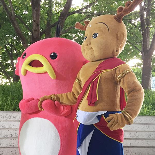 奈良ピックルスとかわいいゆるキャラ