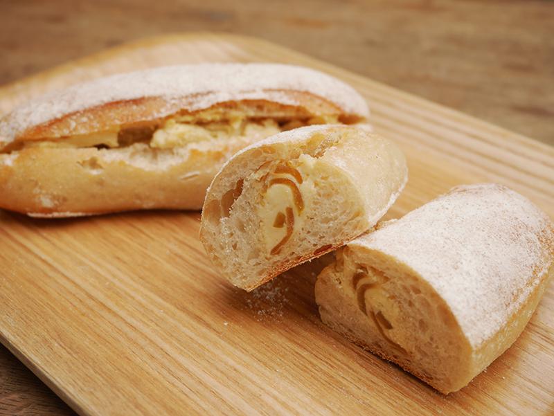 奈良漬クリームチーズ塩麹パン